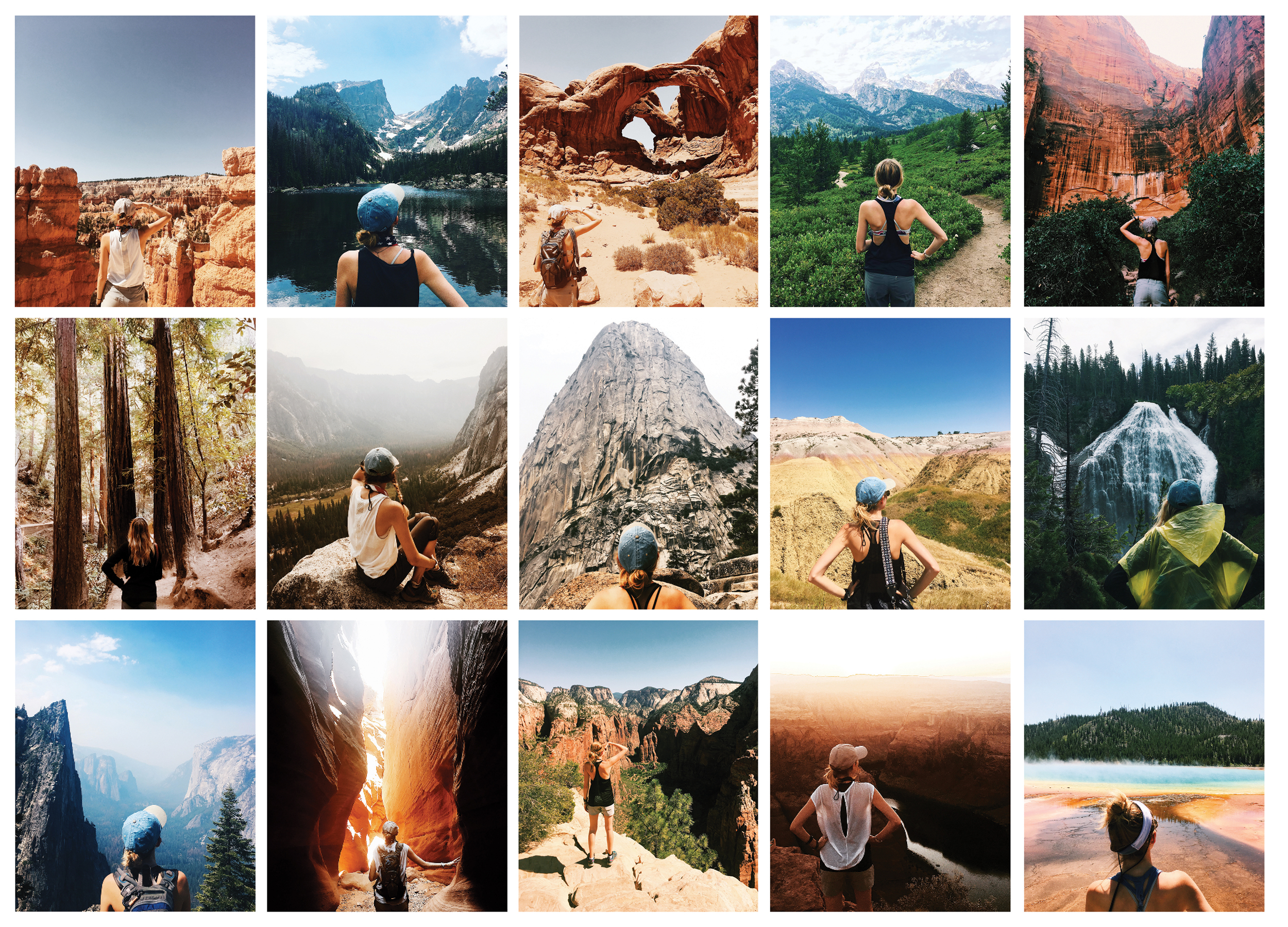 Kayla across America's National Parks  Daytripper 60 Days on the Road Exploring America's National Parks