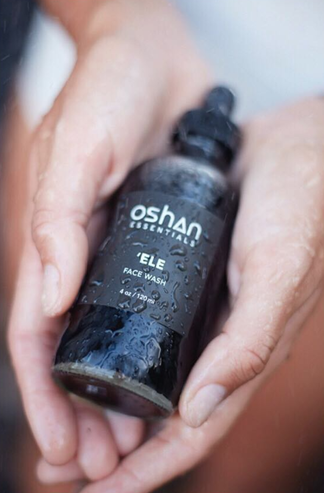 Oshan 'Ele Face Wash will help you look clean and refreshed