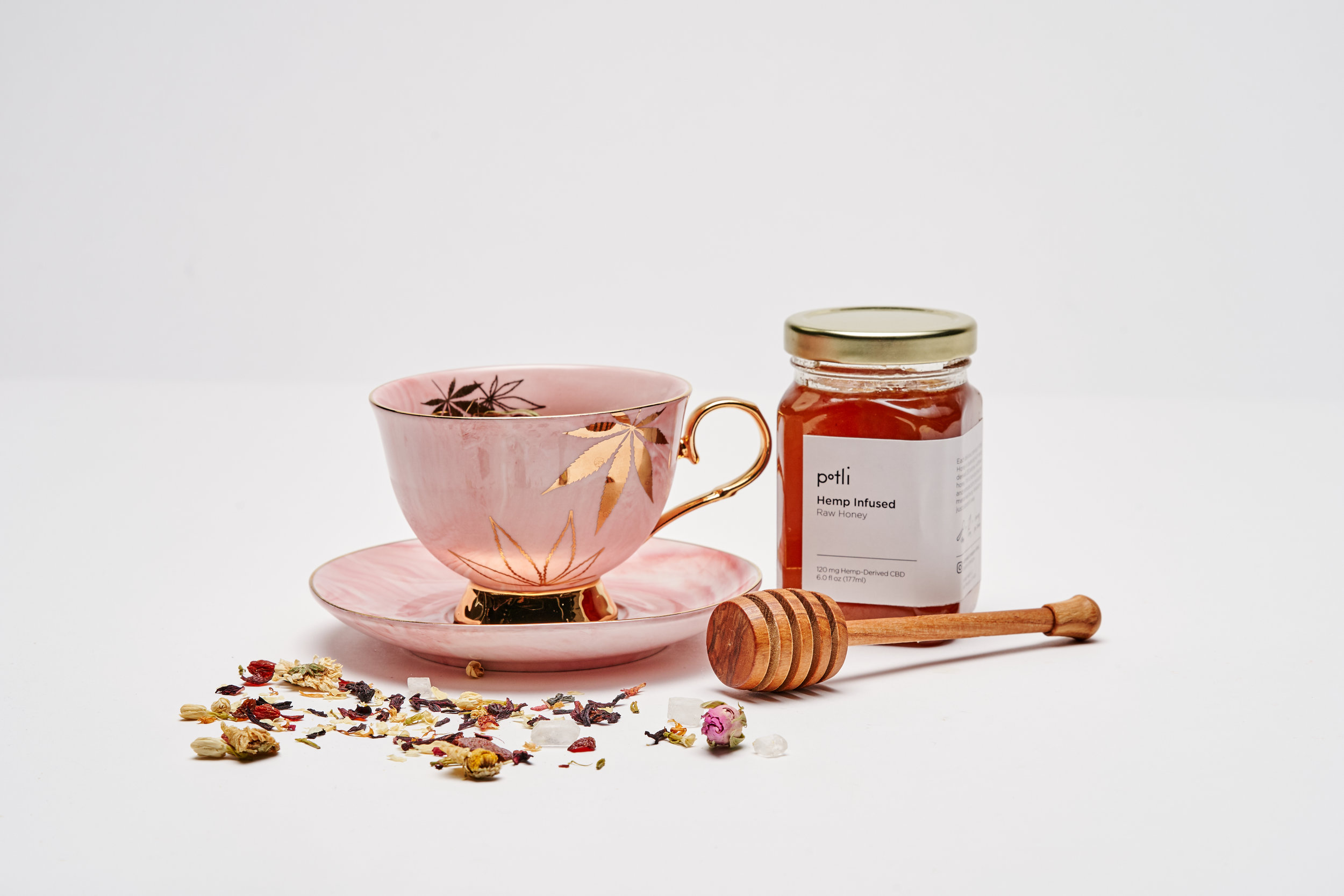Morning cup of tea with Potli honey