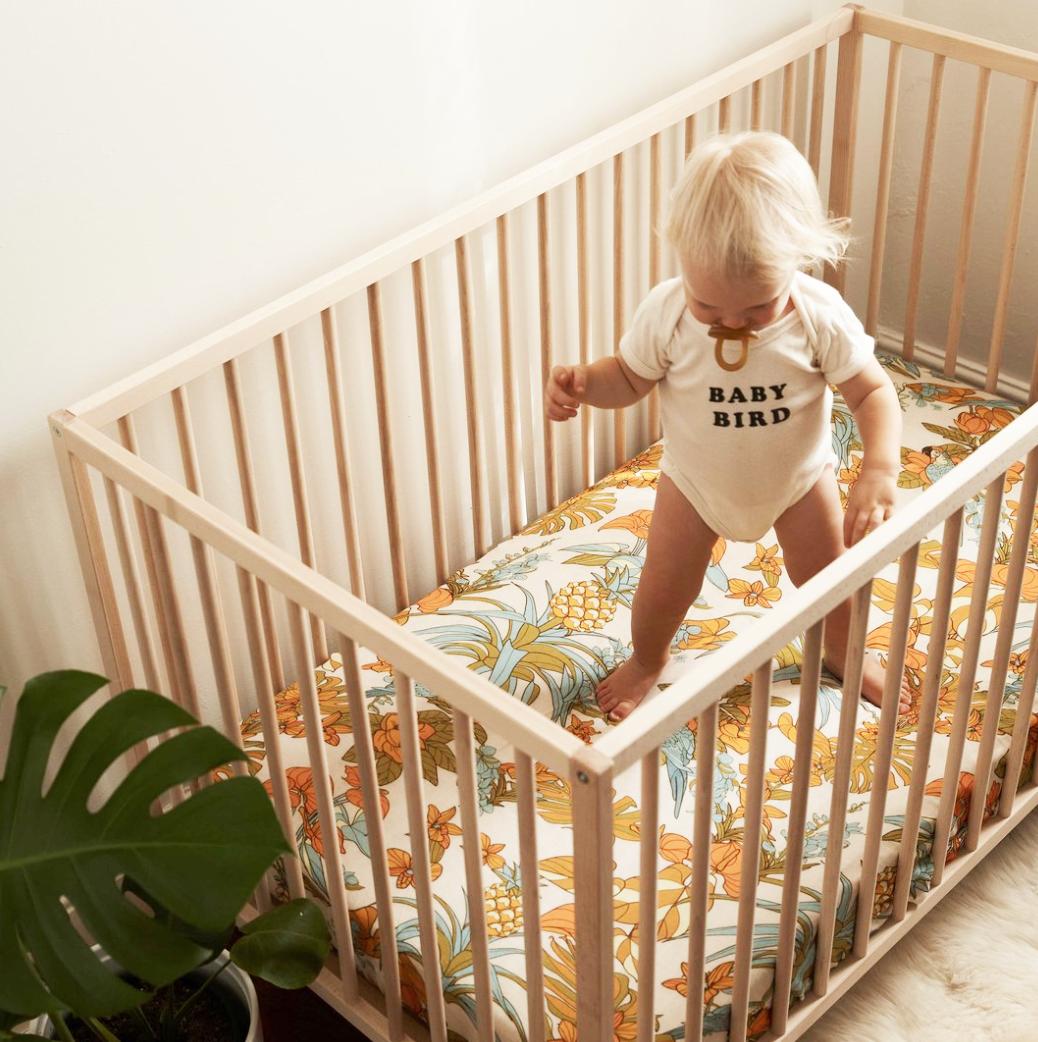 Banabae Hemp/Organic Cotton Crib Sheet