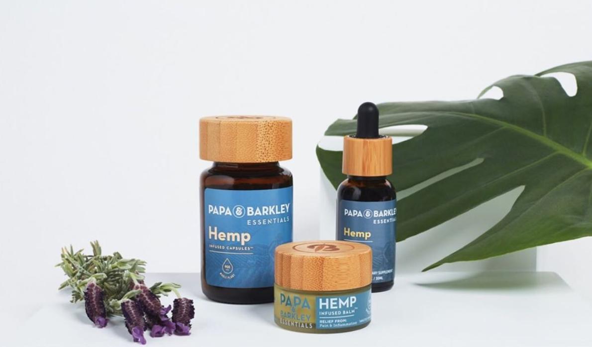 Papa & Barkley's Hemp Essentials product range