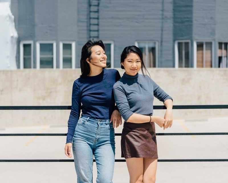 HoneyPot Co-Founders Felicity Chen & Christine Yi ©Daniel Lee @danyolsan