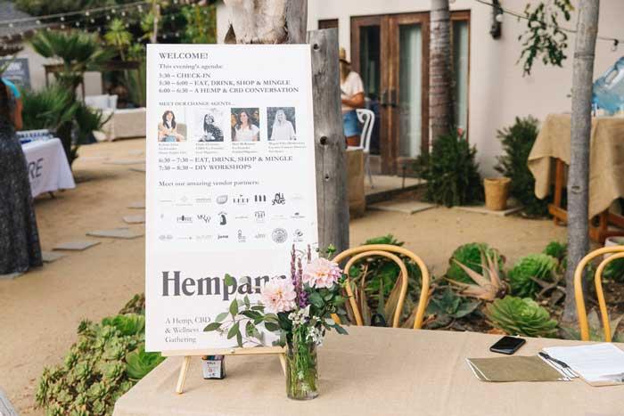 Hempanna Event Sign