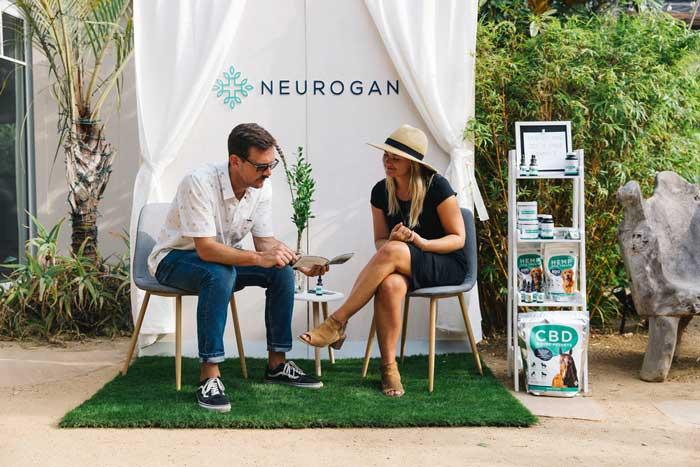 Neurogan Booth at Hempanna