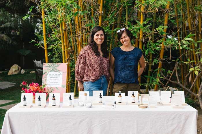 Cordial Organics Table at Hempanna