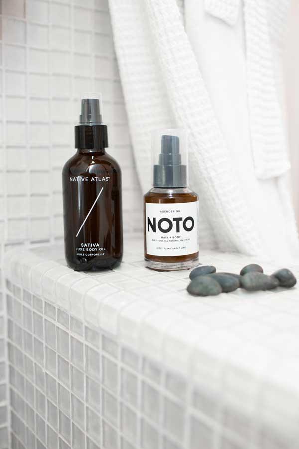 Native Atlas Luxe Body Oil,   NOTO Hair & Body Oil