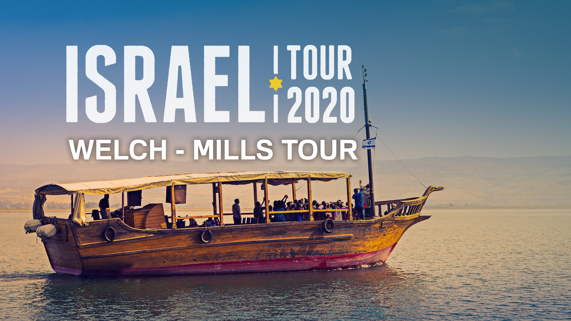 Secure your spot for a life changing trip to the Holy Land. Details released soon.
