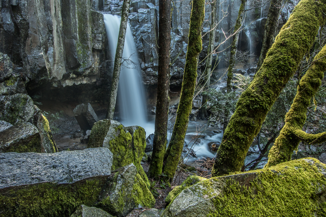 Hedge Creek Falls. In Dunsmuir- short walk from I-5