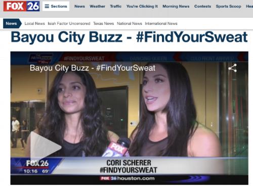 Fox26 Bayou City Buzz Find Your Sweat