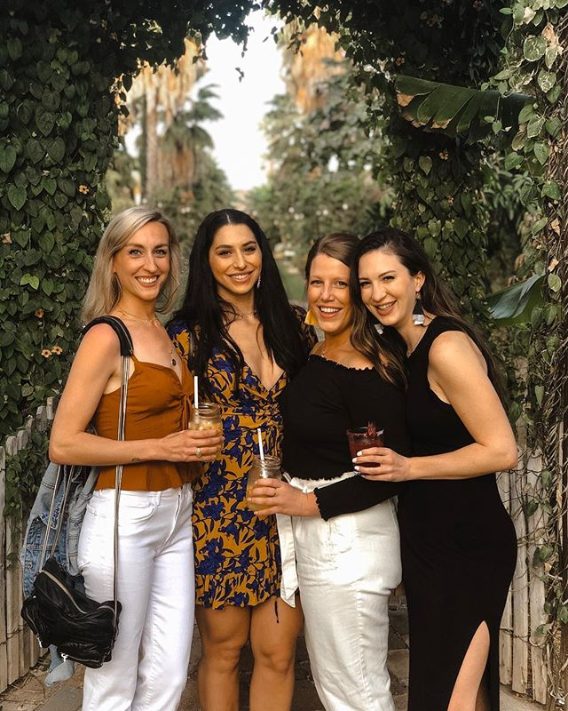 Been trying to plan a girls trip for about 10 years together. Fiiinally enjoying Cabo with some of my best girls 🙏🏽💕 Happy bachelorette Britt! - Dress is linked on my story - comes in 2 other colors too. PS: if y'all come to Cabo, you MUST check out @florafarms 😋 farm-to-table, fresh, amazing food and the most beautiful place I've seen.