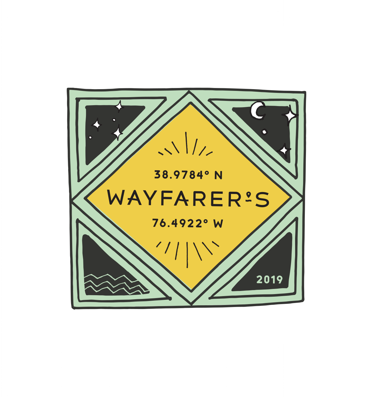 RACE PATCH   All 2019 runners will receive a patch for running Wayfarer's Annapolis.