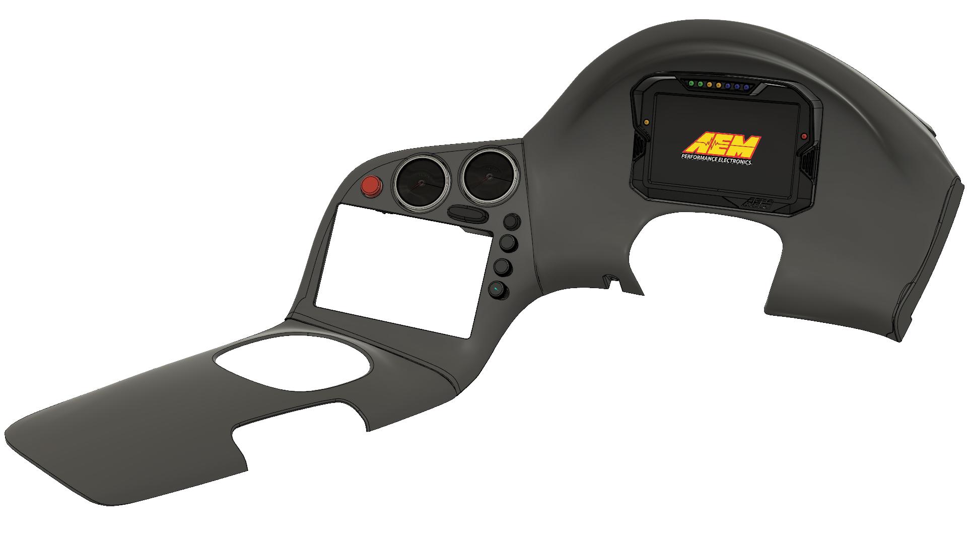 AEM CD7 Dash setup!