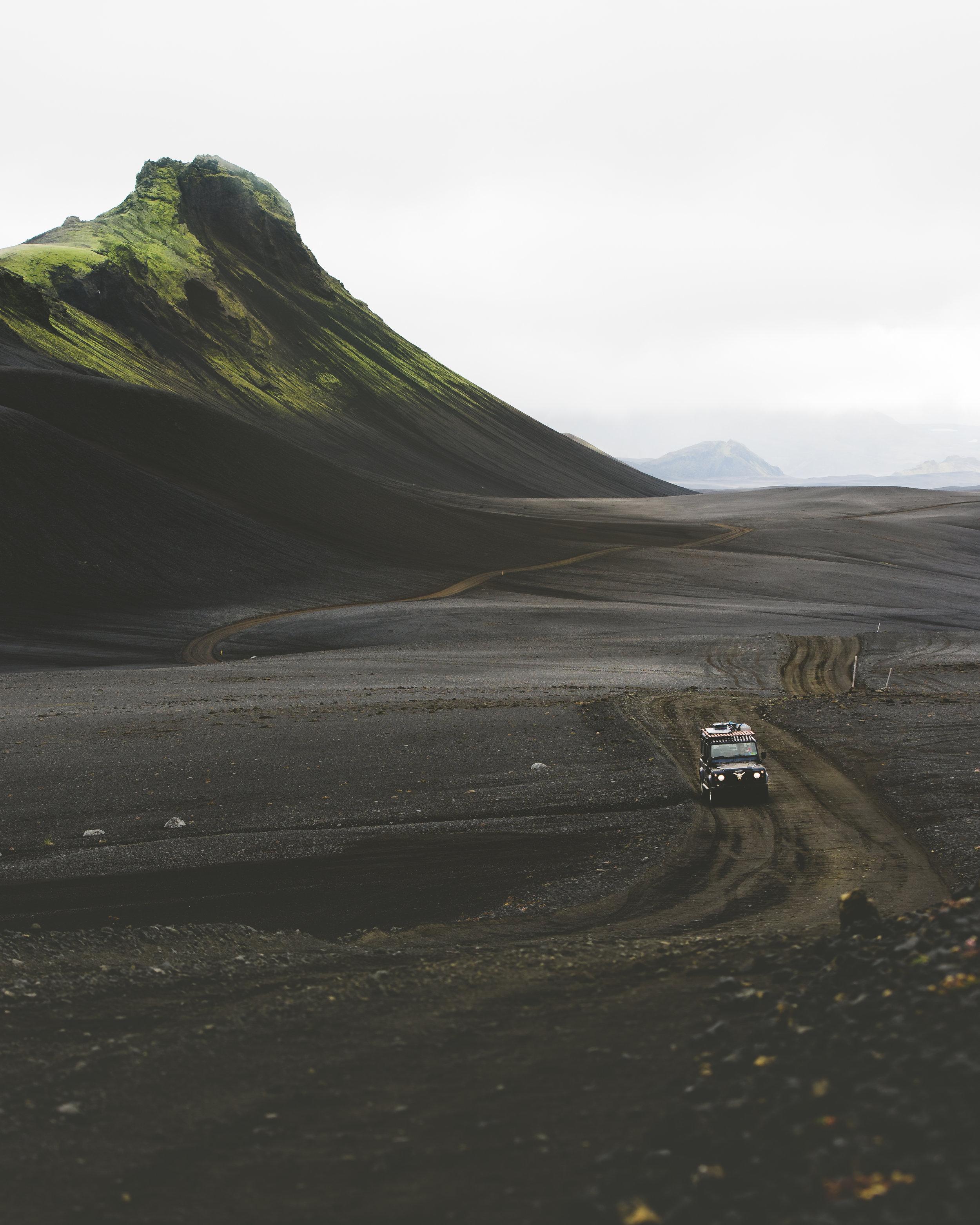 Roaming the Icelandic Highlands
