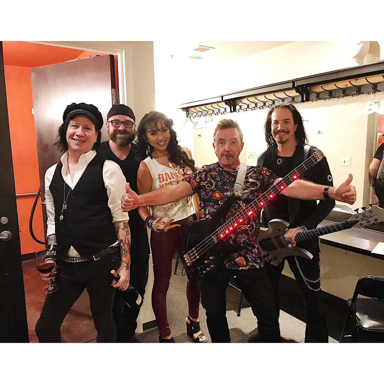 Tony Lewis and band. Photo Credit: Carol Lewis