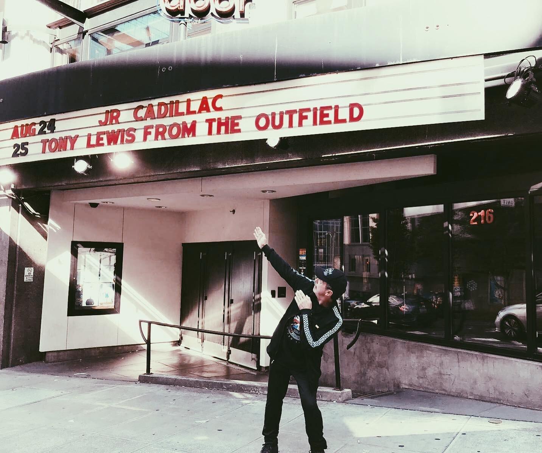 Tony Lewis Marquee Seattle. Photo Credit: Carol Lewis