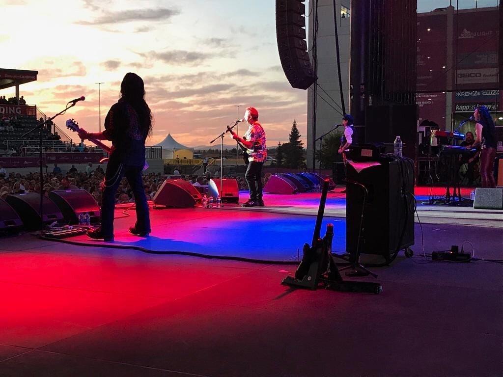 Tony Lewis in Spokane. Photo Credit: Carol Lewis