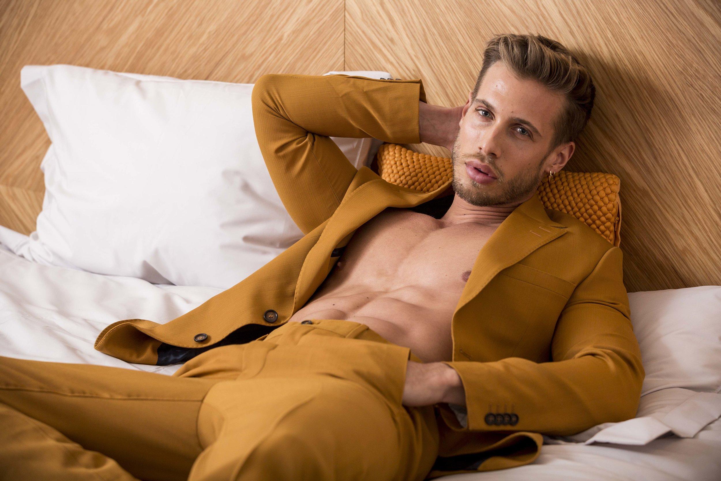 Suit -  Tiger of Sweden , Shoes -  The Kooples