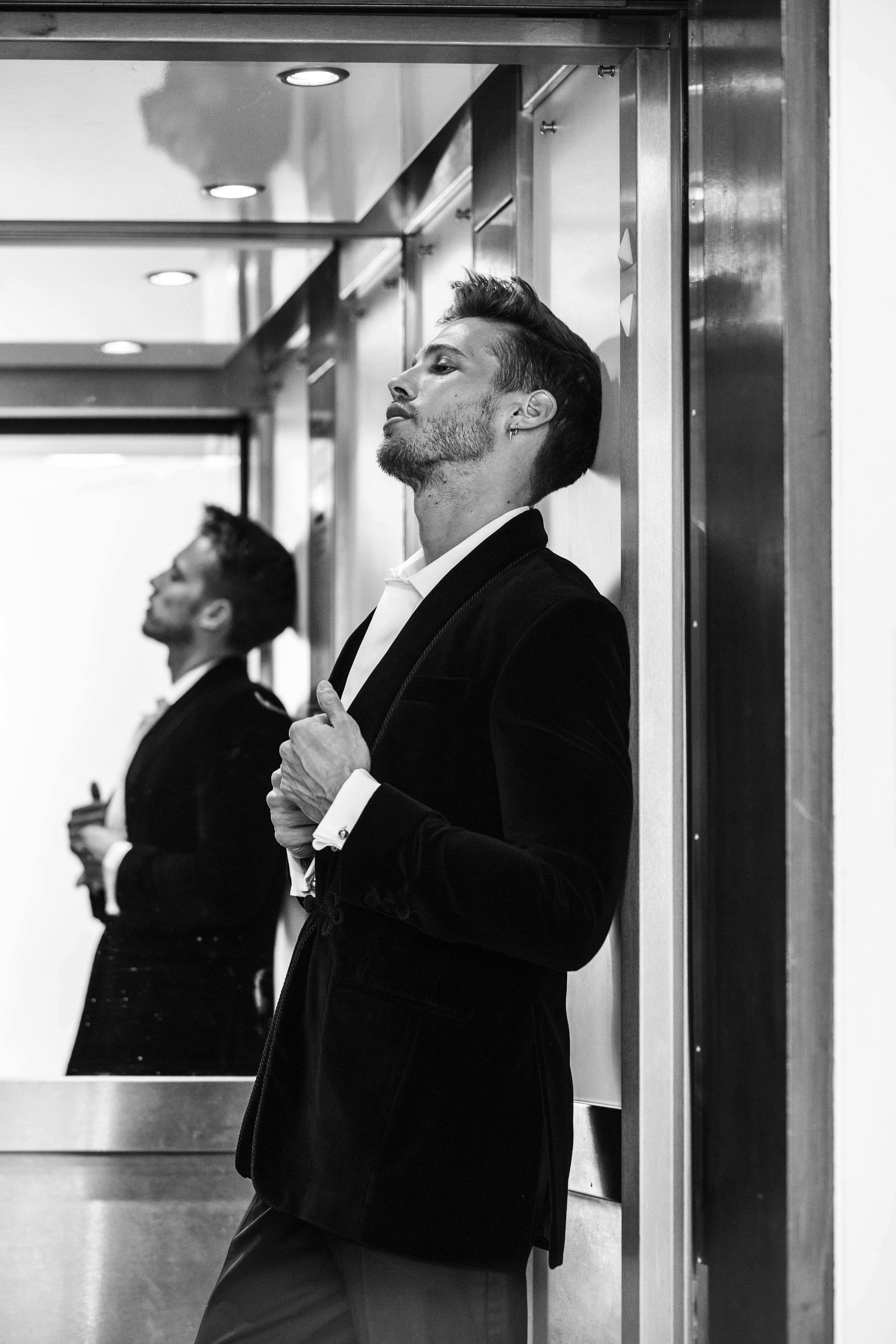 Suit & shirt -  Turnbull & Asser , Shoes -  J.M Weston