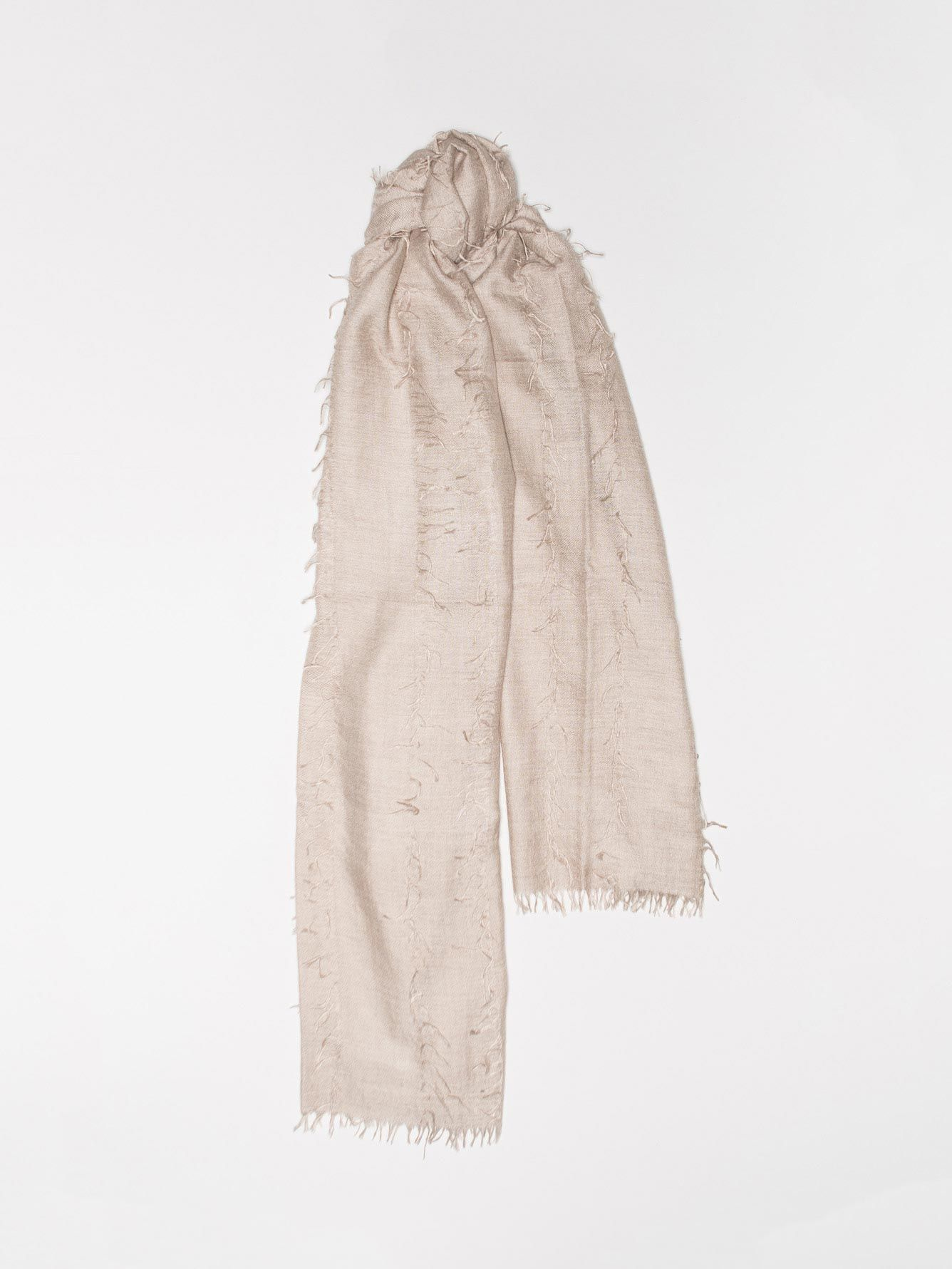 Begg & Co cashmere silk scarf - £245 - The ultimate luxury accessory for the season