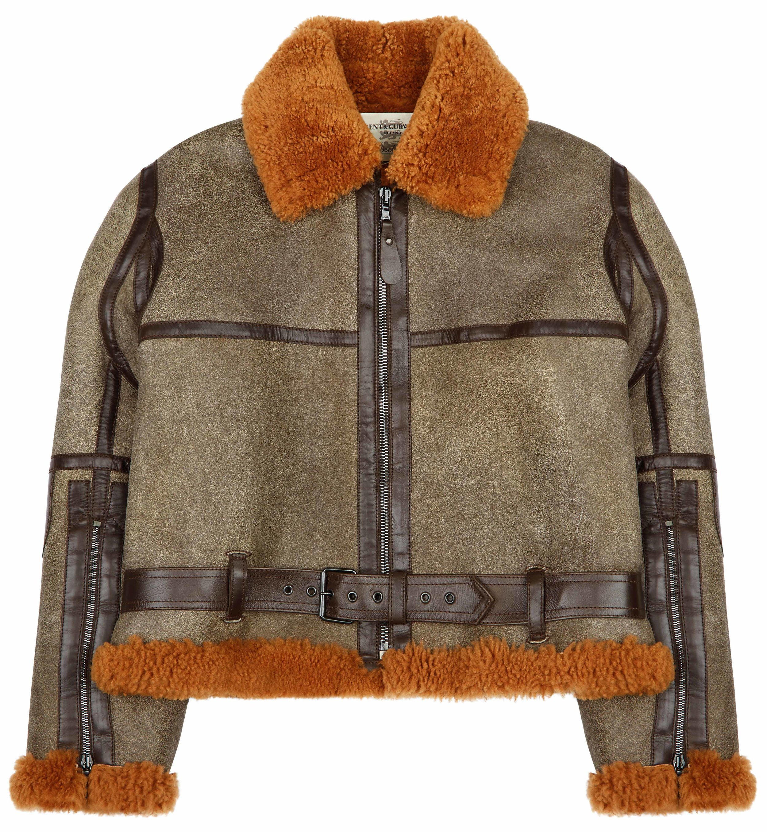 Kent & Curwen shearling aviator jacket - £1,895 - Giving whole new meaning to the phrase
