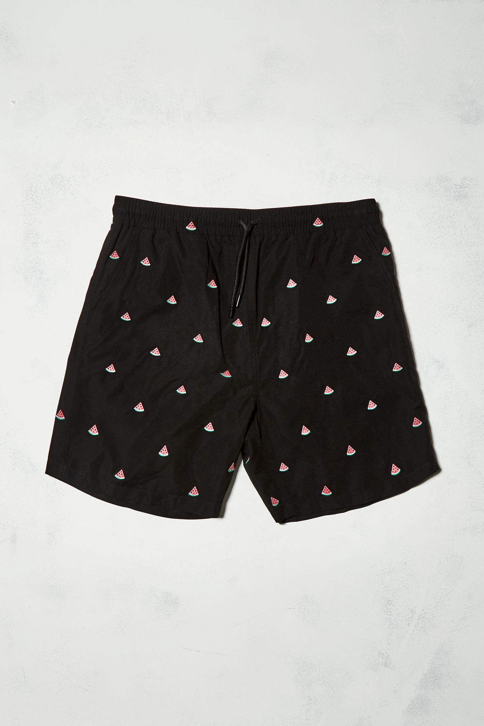 UO watermelon embroidered swim shorts - £32