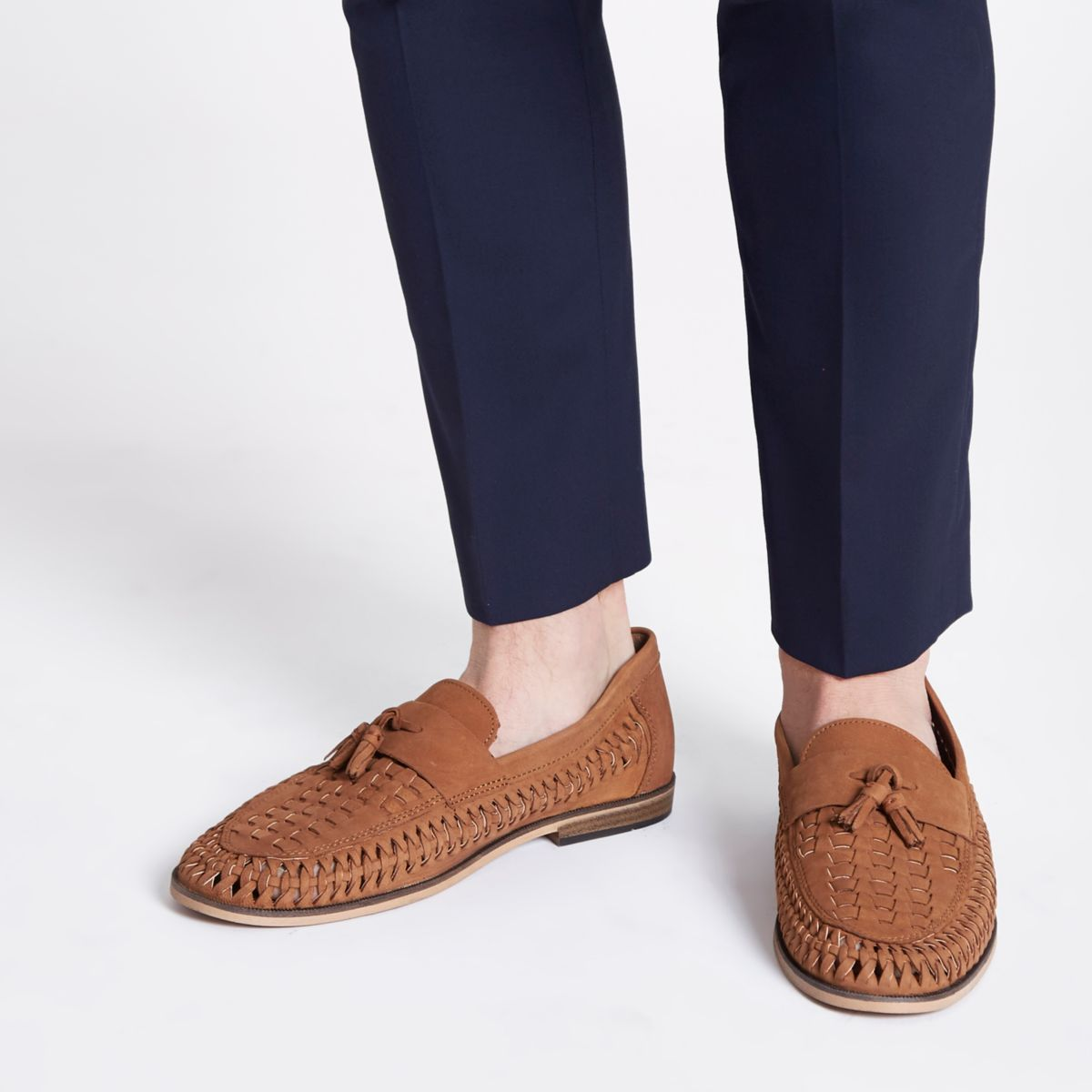 River Island loafers - £45 - Perfect Bank Holiday footwear, to be worn with slightly cropped trousers and a smile
