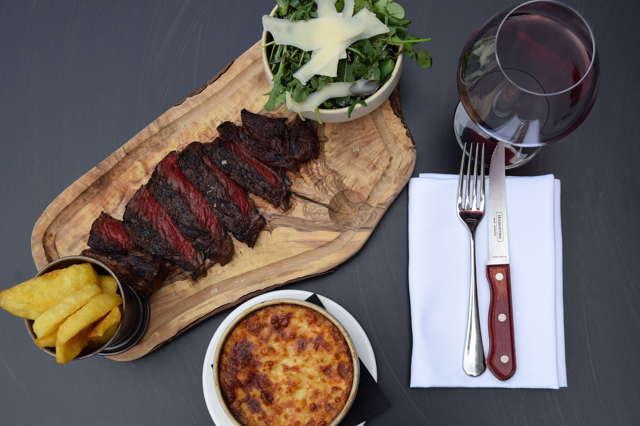 Rump Steak Mac n Cheese Triple Cooked Chips - Jones Family Kitchen - Photo by Simon Burrell 1.JPG