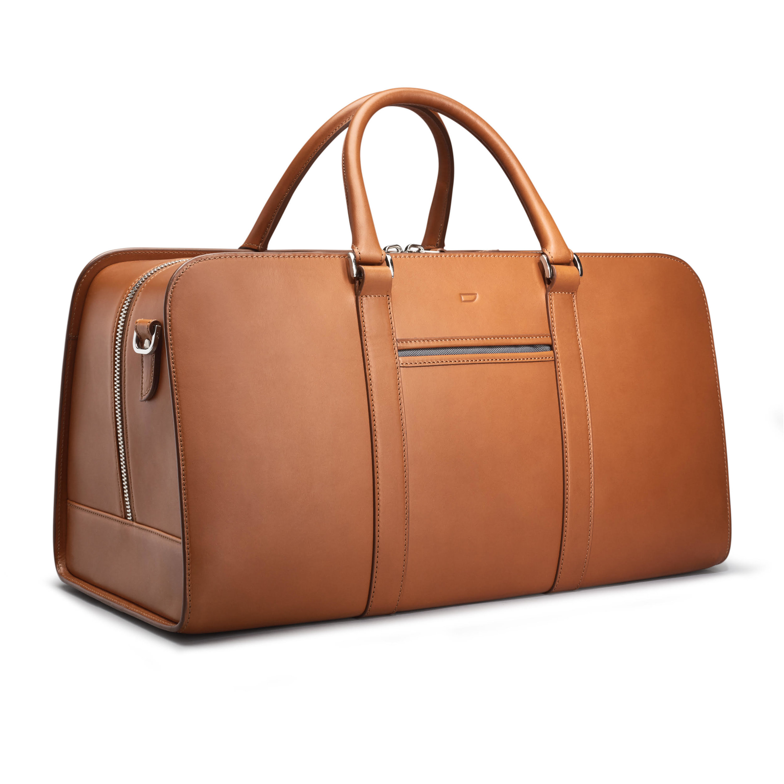 Carl Frederik Palissy weekend bag - £495 - Superb construction means that this bag won't change shape, no matter how many pants you try to cram into it