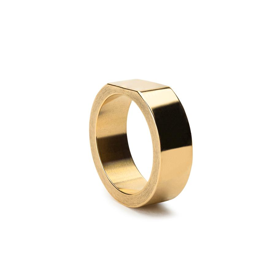 Alice Made This signet ring - £150 - We are big fans of this new collection, with our fav being this polished brass design