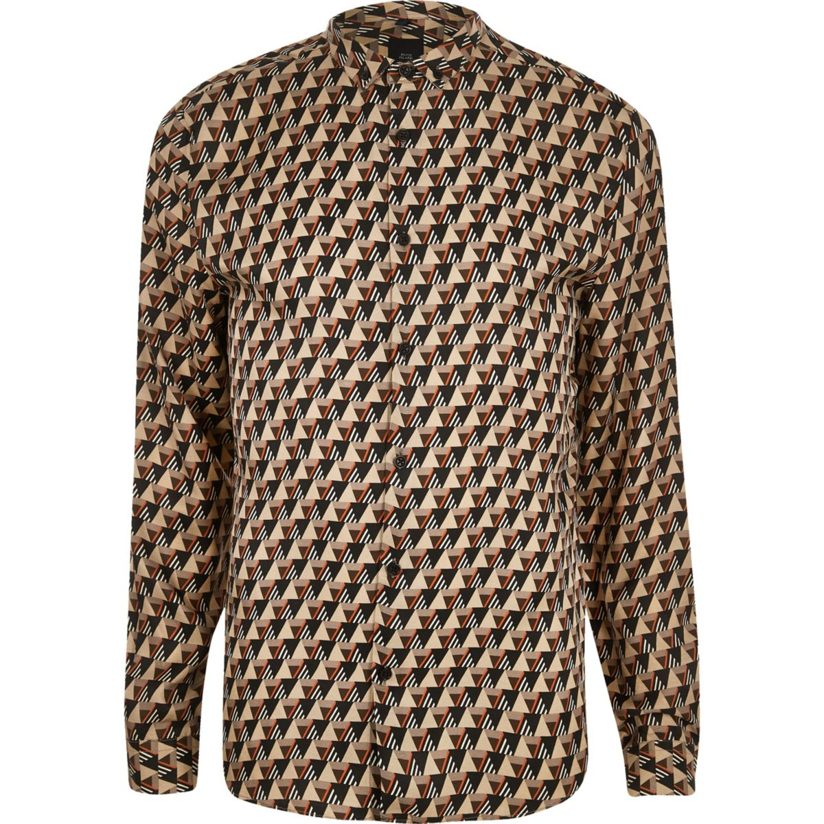 River Island printed shirt - £32 - For the nights when you go out, out