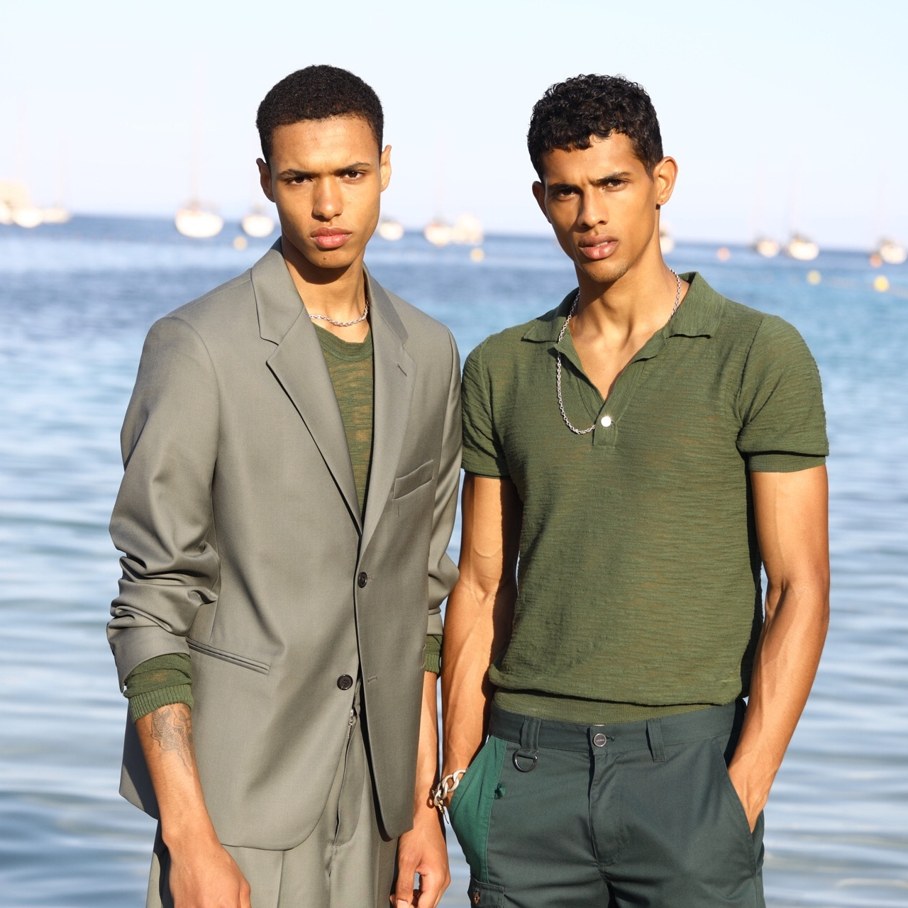 Jacquemus  Label created by French designer Simon Porte Jacquemus that presented their first ever menswear collection in Spring 2019.   https://www.jacquemus.com