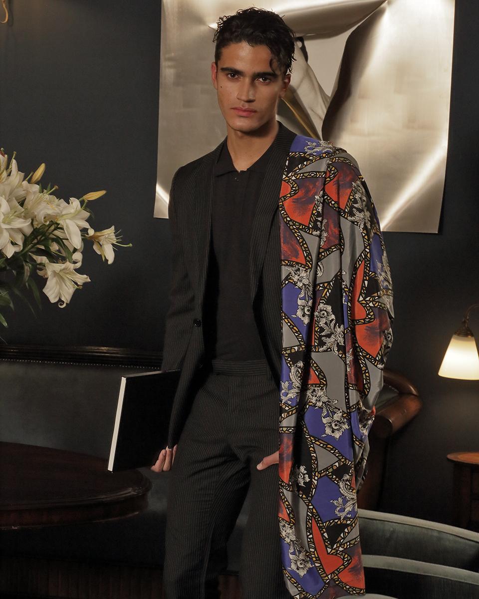 Shirt -  H&M , Polo -  Liu Jo , Scarf - Stylit's own