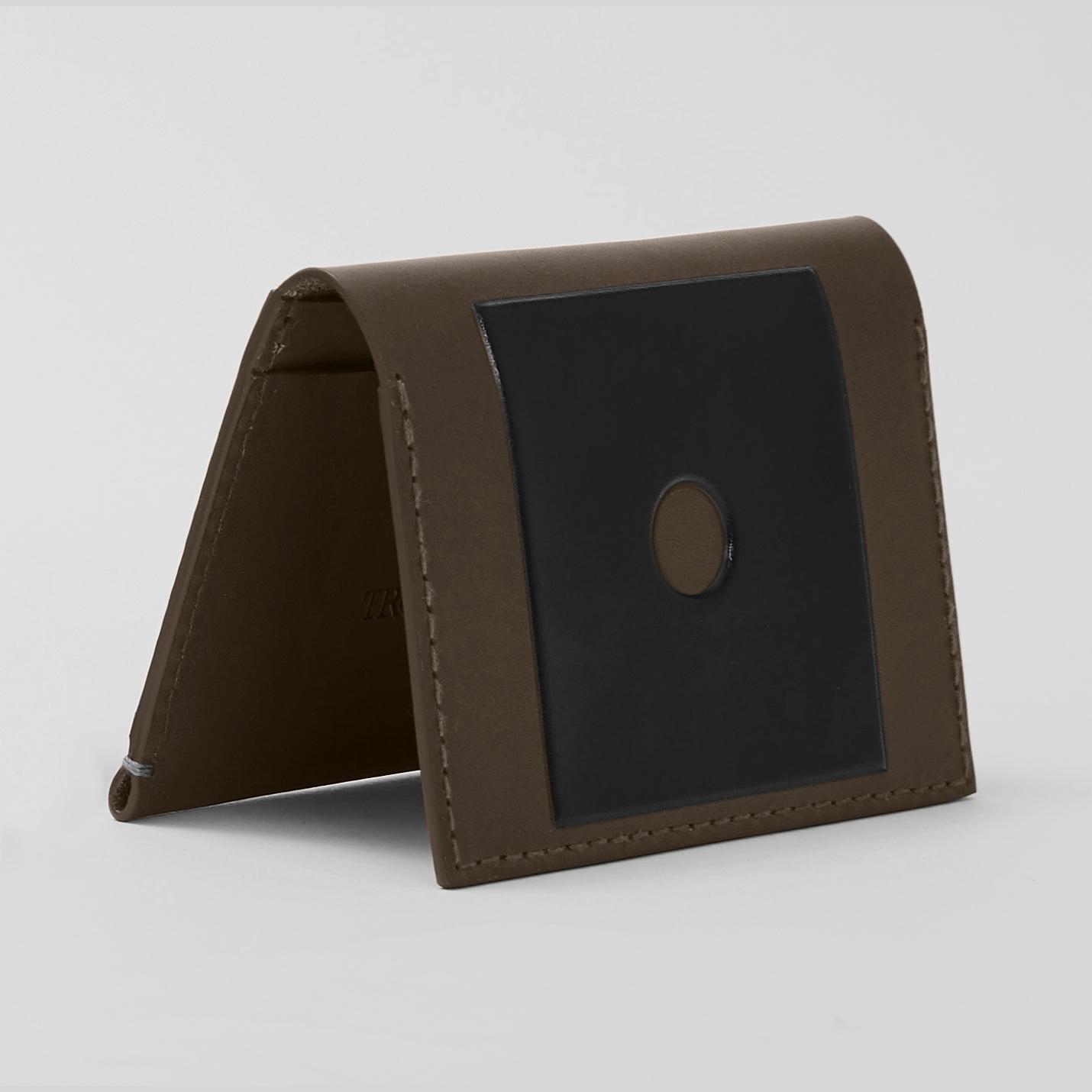 NEW Troubadour Colourful Wallet Collection - Khaki Card Wallet.jpg