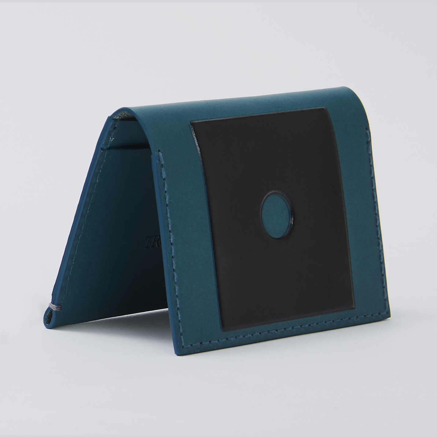NEW Troubadour Colourful Wallet Collection - Teal Card Wallet.jpg