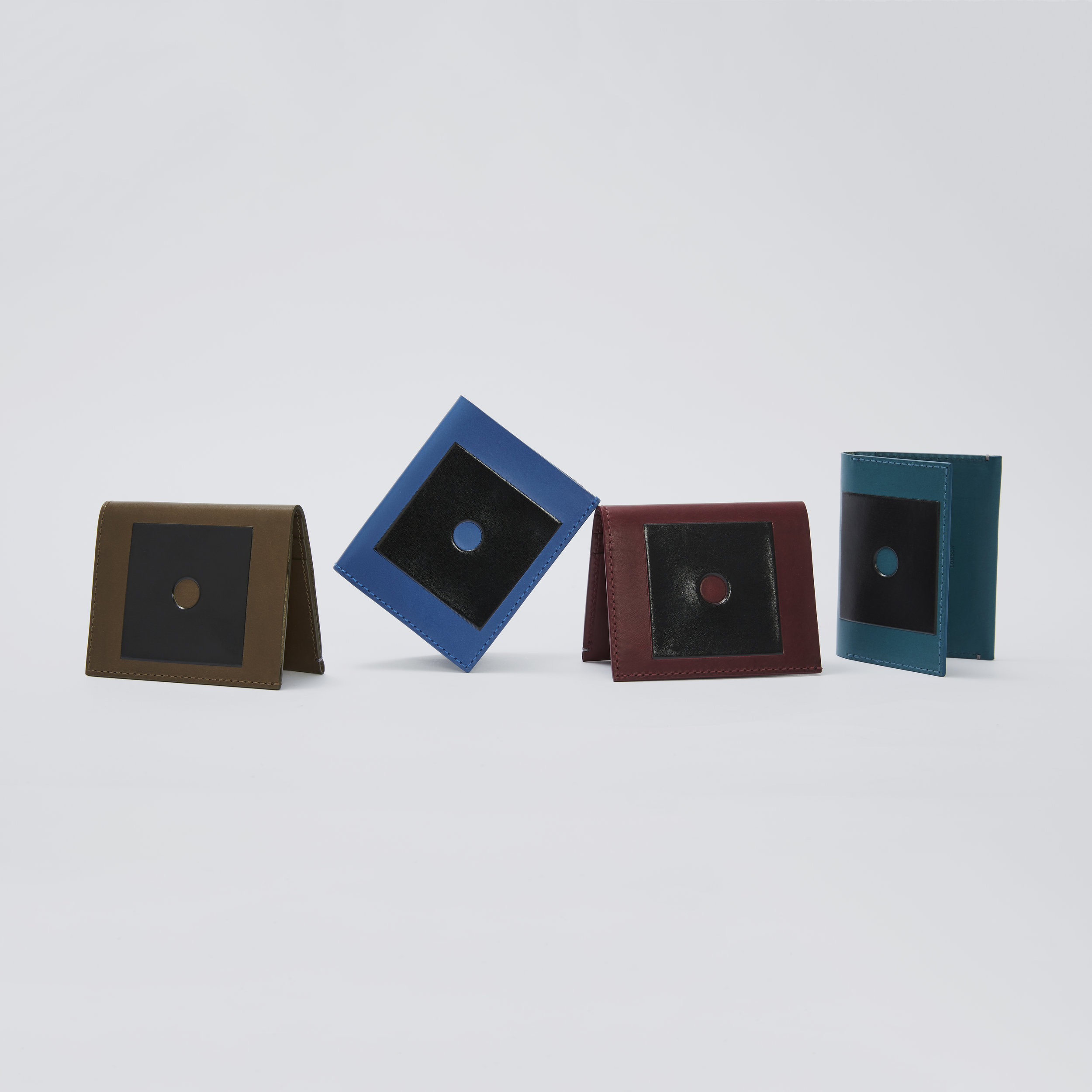 NEW Troubadour Colourful Wallet Collection - Slim Billfold Wallets - Group Shot.jpg