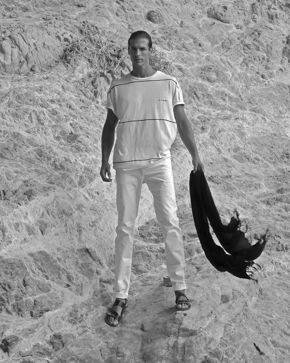 T-shirt -  Cheap Monday , Jeans -  Fay , Shoes - RDB sandal Puglia, Pareo -  Bali