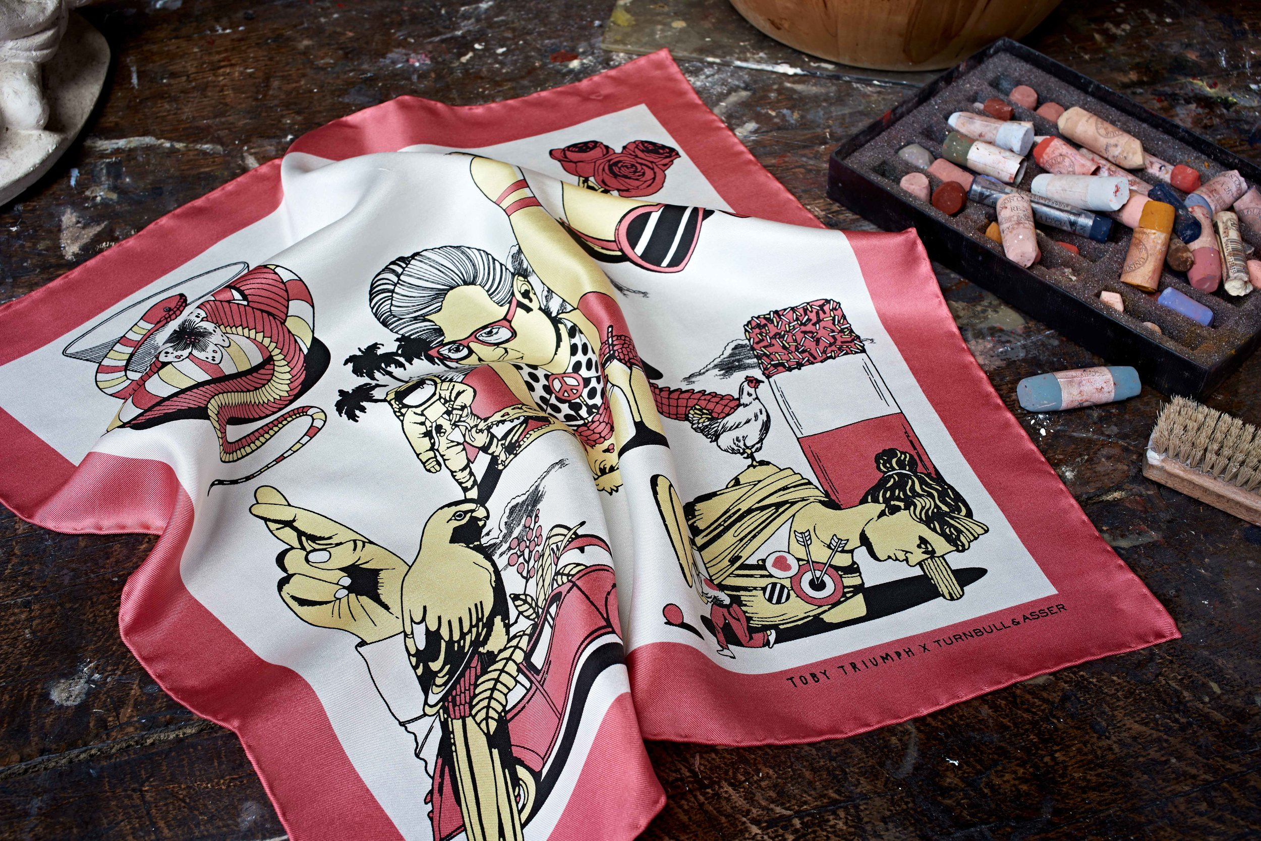 NEW Turnbull & Asser 'The Artist Collection' Pocket Squares (18).jpg