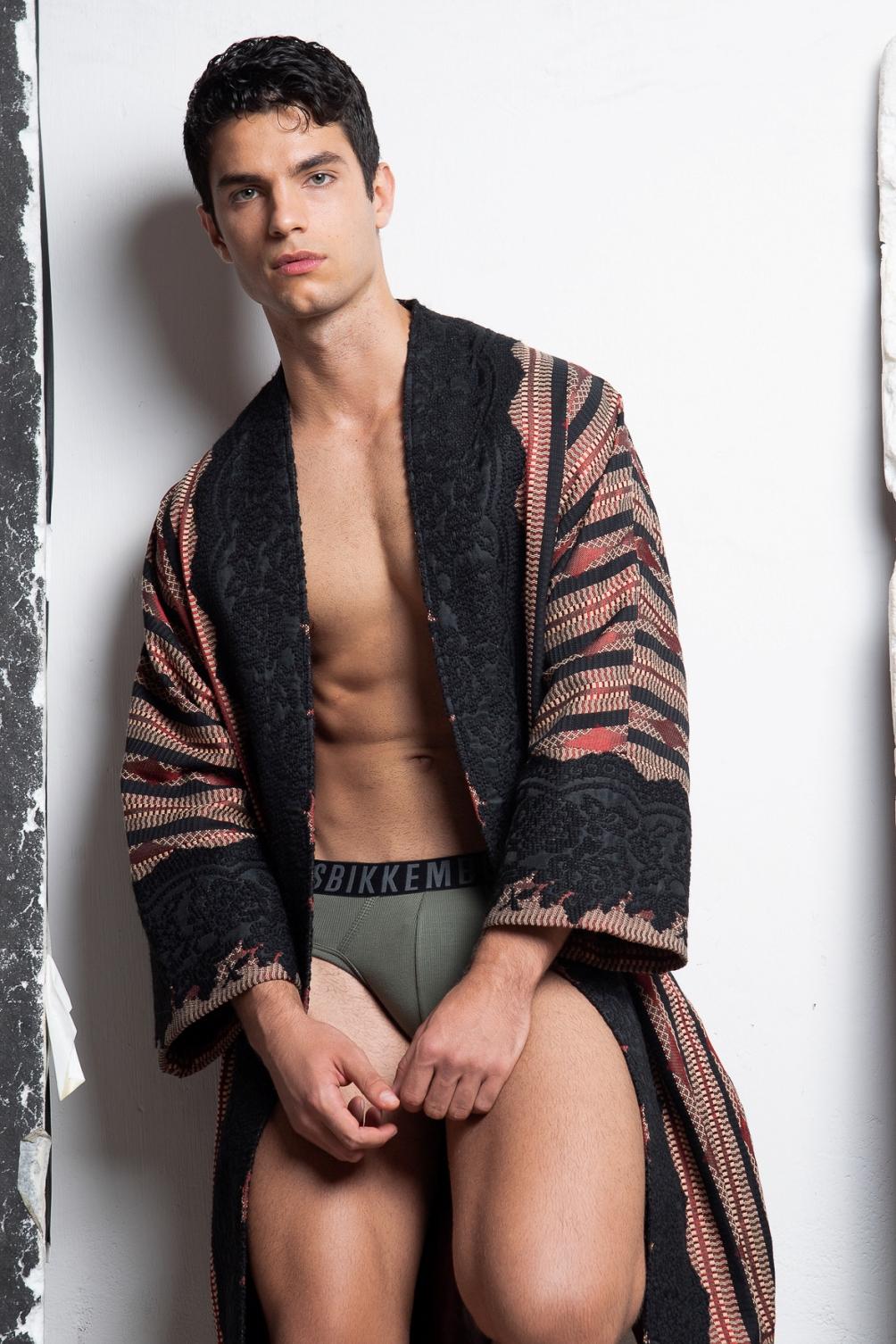 Coat -  Christian Pellizzari , Underwear -  Bikkembergs