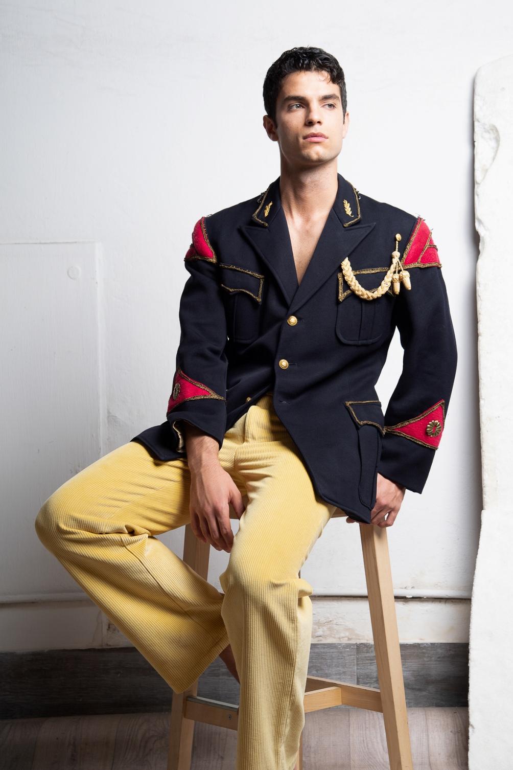 Jacket - vintage  A.N.G.E.L.O , Trousers -  Lucio Vanotti