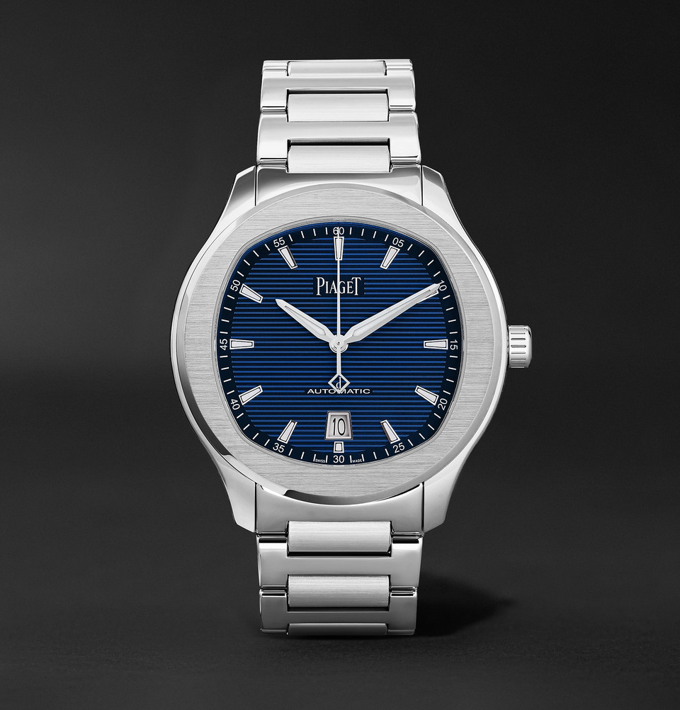 Piaget Polo S Automatic 42mm Stainless Steel Watch -£9,900 - Treat yourself to a superb new timepiece from world leaders Piaget at Mr Porter.