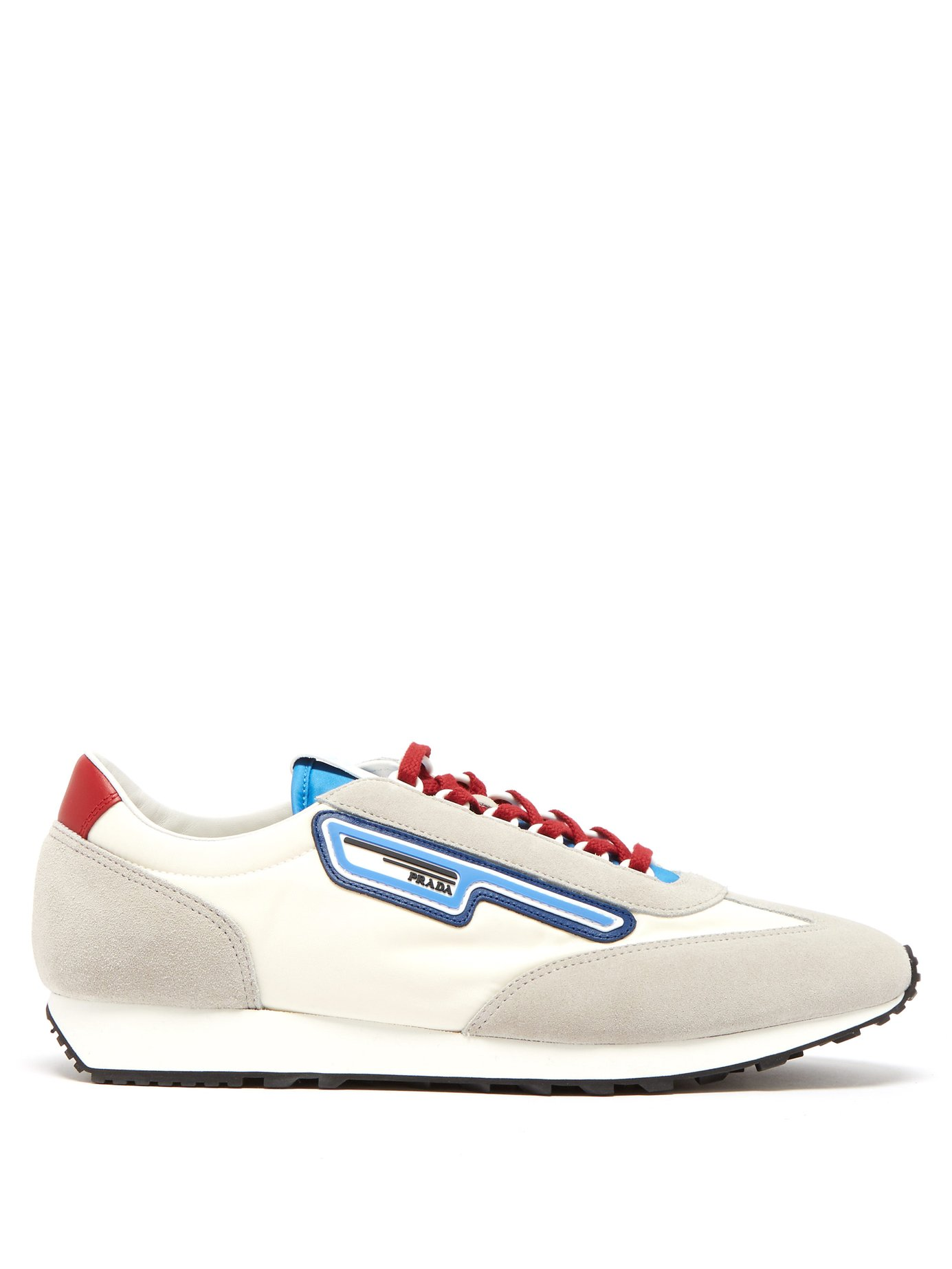 Prada sneakers - £515 - Strengthen your sneaker game this season with Prada's slightly spacey designs, at Matches Fashion.
