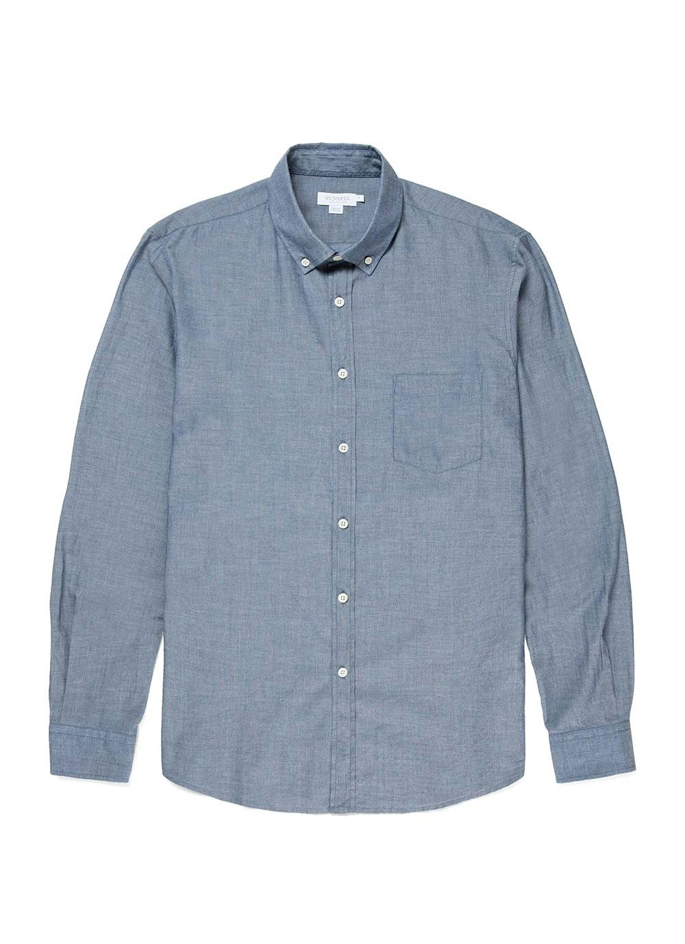 Sunspel chambray shirt - £105 - Perfect for spring, and easy to wear with anything, at any time.