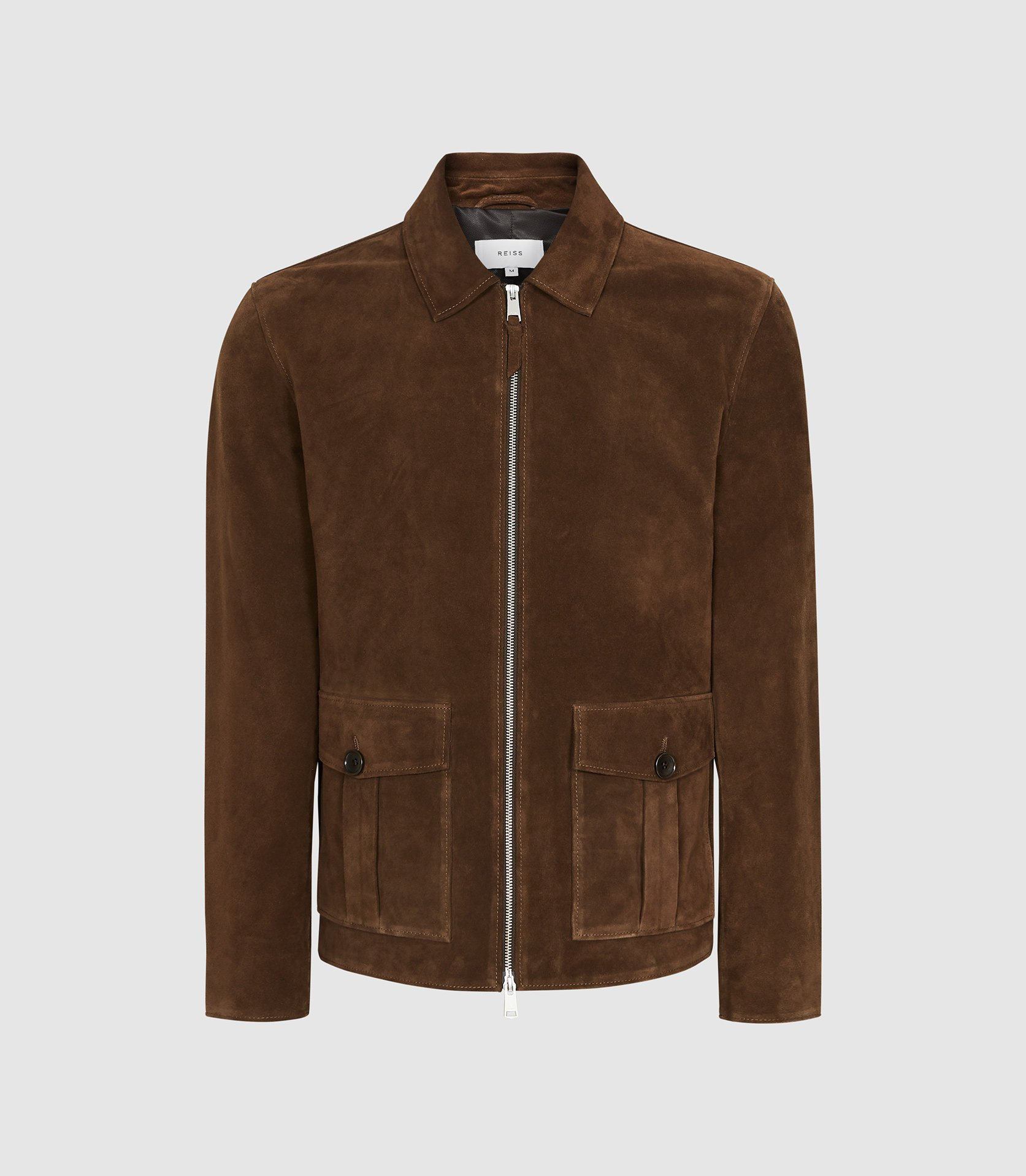 Reiss suede jacket - £550 - Just one of the highlights from a superb spring collection.