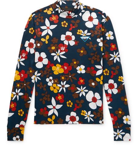 Prada mock T-shirt at Mr Porter - £455 - Serious Seventies vibes from this superb new season Prada design