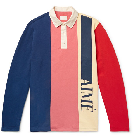 Aime Leon Dore rugby shirt at Mr Porter - £210 - Inspired by vintage sportswear, we love the tones in this panelled rugby shirt