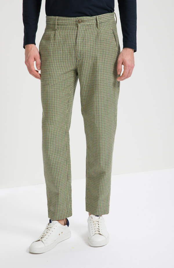 Slowear Incotex linen trousers - £335 - Who said that linen trousers have to be boring?
