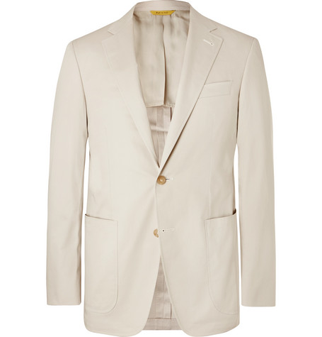 Canali suit jacket Mr Porter - £885 - Been invited to a wedding overlooking the sea in Malta? This is perfect for summer weddings on the beach