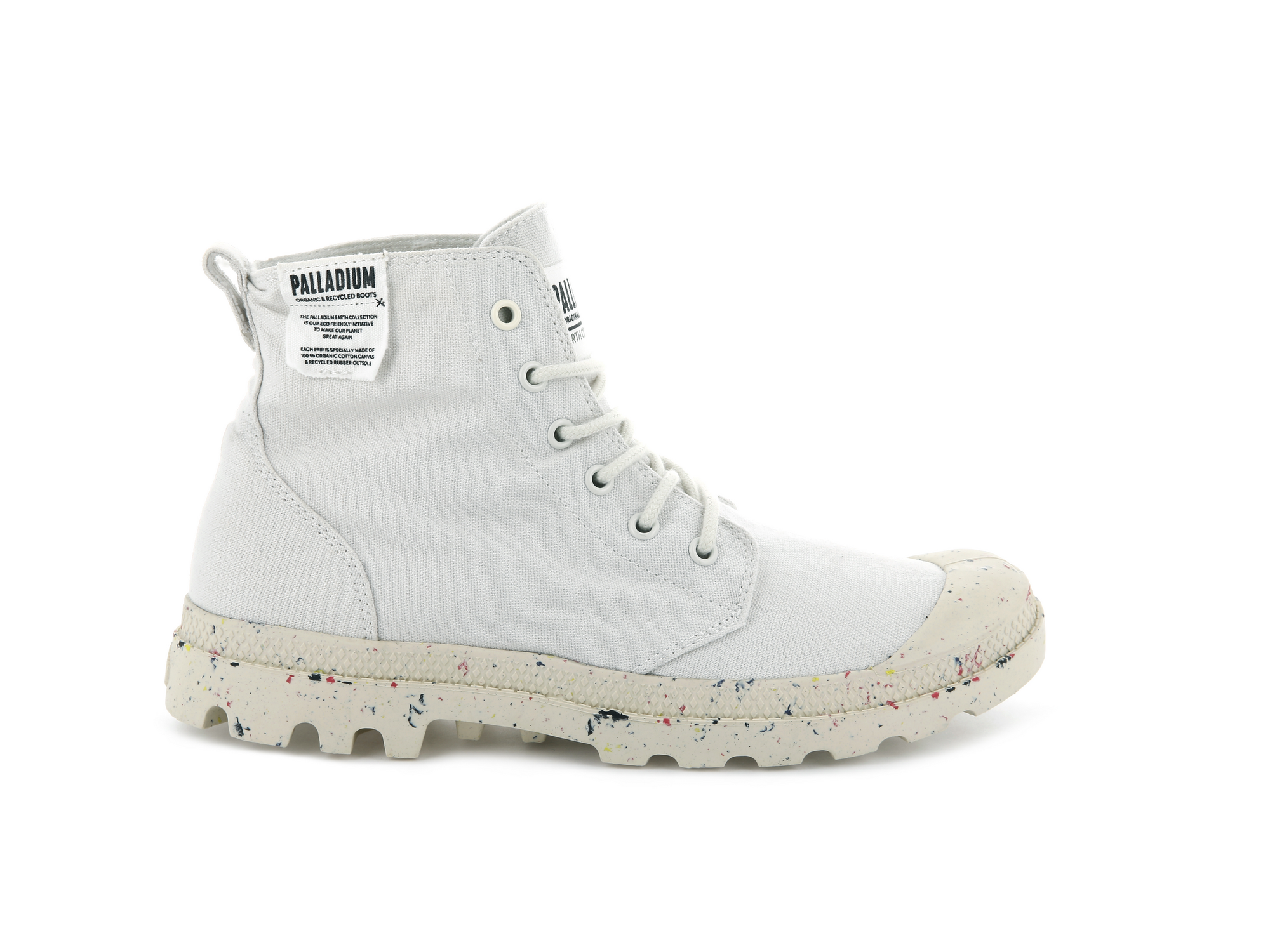 Palladium pampa hi organic boots - £75 - Fashion forward boots that are environmentally friendly at the same time. These boots help preserve the environment with their upper made of 100% organic cotton and lacetips made from bio-degradable plastic. The cork-laminated sock liner adds an extra level of comfort