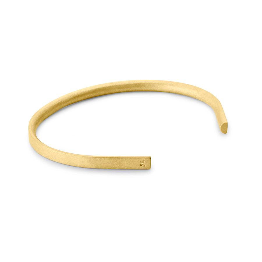 Alice Made This 9ct gold bracelet - £950 - Made to order from Alice Made This, this piece has all the hallmarks that modern jewellery for men should have - clean, simple and strikingly elegant