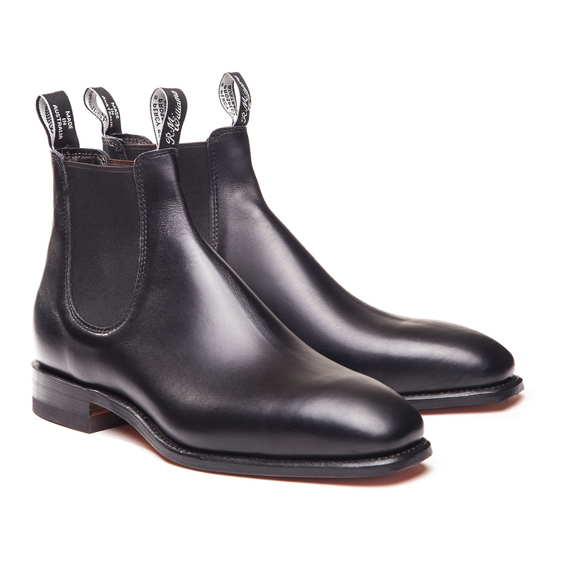 R.M. Williams classic boots - £350 - Nothing beats a pair of classic black boots. Wear with dark and fitted selvedge denim